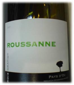 Roussanne, Dom la Croix Gratiot