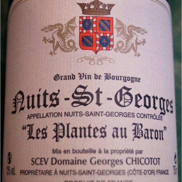 Nuits-St-Georges 'Les Plantes au Baron' 2013
