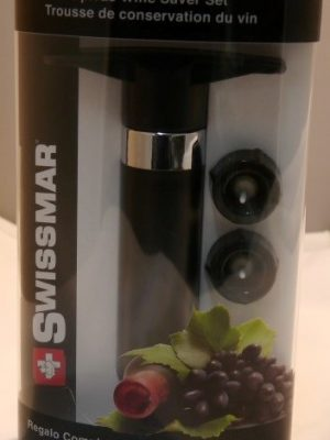 Swissmar-Epivac-Wine-Saver-Set-Black