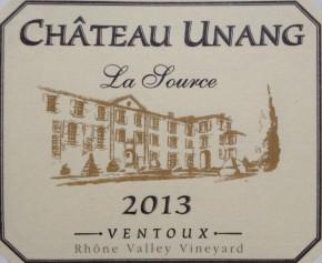 Ch Unang 'La Source', Ventoux