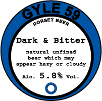 dark and bitter
