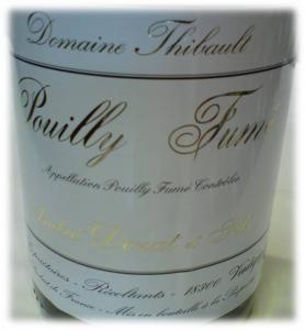 Pouilly Fume Dom Thibauld