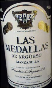 Les Medallas de Argueso Manzanilla