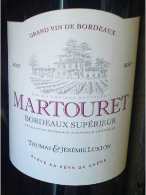Chateau Martouret 2012 Bordeaux Supérior